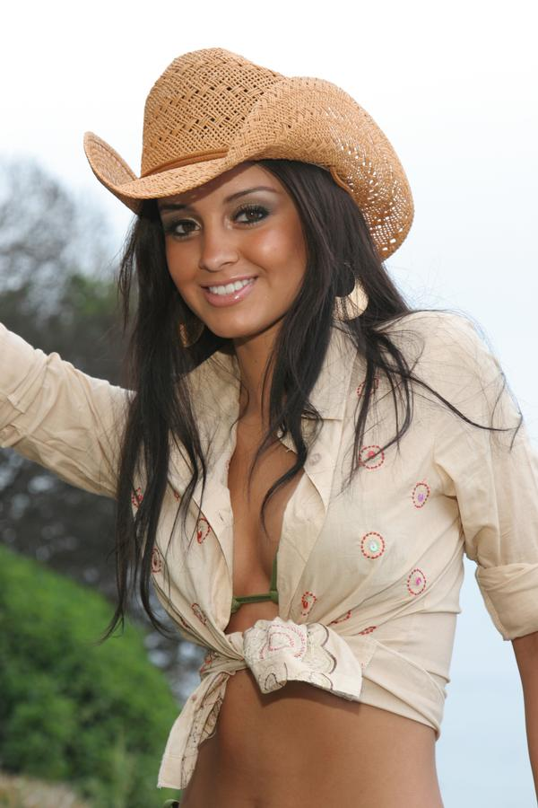 Malibu Oct 12, 2007 Hilton Photography,  Make up by Claudia Rocio The Cowgirl Picture