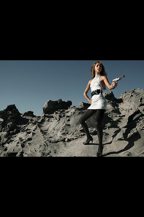 Female model photo shoot of Ashley M Vigil by Ezra Spurrier