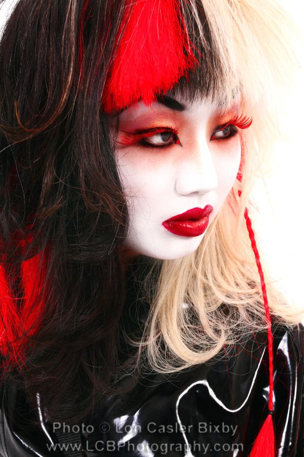 Oct 13, 2007 LCB photography Anime Geisha || MUA/Hair: Justefanie || Stylist: LCB Photography