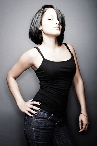 Female model photo shoot of Simply T by Steffon John Studio in sudio