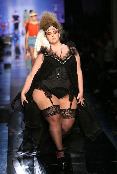 Paris Oct 16, 2007 Jean Paul Gaultier runway show