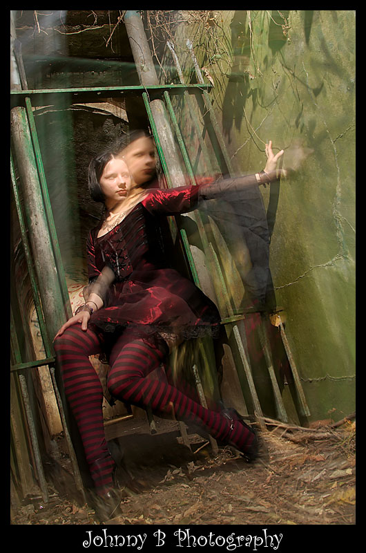 Female model photo shoot of randomly spaztik by JohnnyB Photography in fort armisted