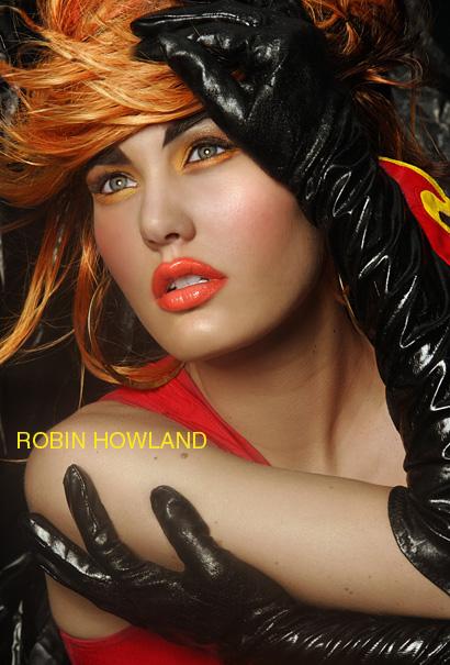Female model photo shoot of Persona Studios and AshleyBri in Glam studio