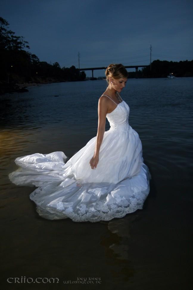 Oct 17, 2007 J. Jones trash the dress, Bridal