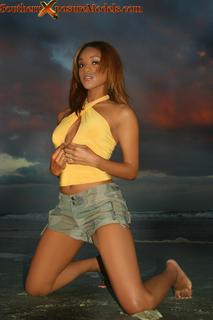 Female model photo shoot of ashleymorton2 in DAYTONA