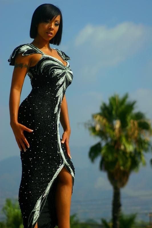Male and Female model photo shoot of LTC Fashion Photography and Chuanda Mason in LA