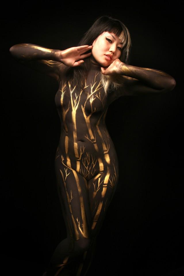 Oct 20, 2007 Studioartistre Bamboo || Body Paint: Studioartistre || Hair/MUA: Looooo