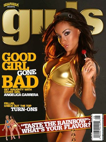 Oct 20, 2007 AARON POWELL SEPTEMBER COVER GIRL