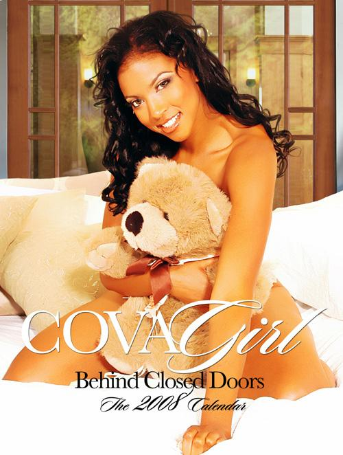 Houston, TX Oct 24, 2007 COVAGIRL 2007 COVAGIRL 2008 Calendar Cover
