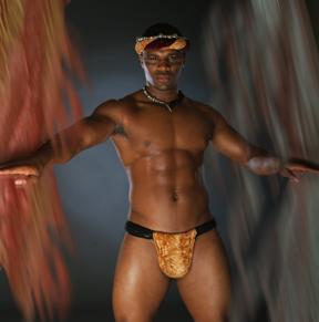 Male model photo shoot of LABARON