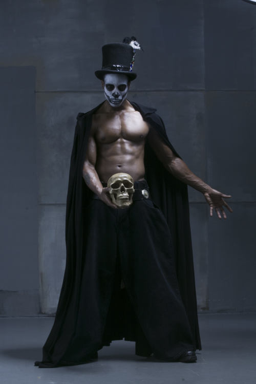 Miami, Florida Oct 25, 2007 David Vance  Baron Samedi for those of you who dont know!!!
