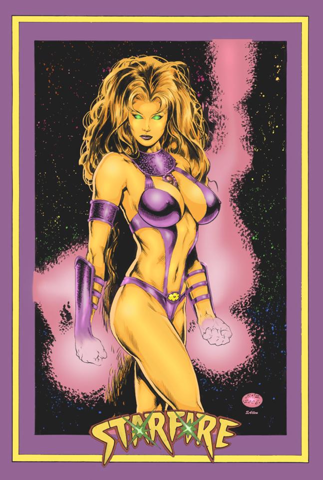 Brooklyn Oct 29, 2007 DCcomics StarFire, of the Teen Titans
