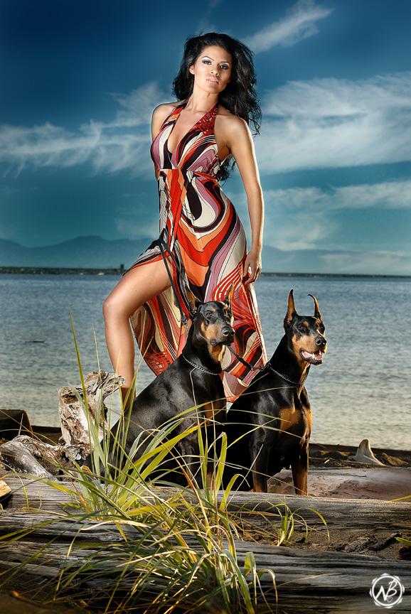 Female model photo shoot of Rosalba Va, makeup by YOUR FACE MY ART