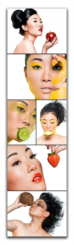 Drexina Nelson Photography Studios Oct 30, 2007 Drexina Nelson Beauty Fruit.  Hair: Beautii, makeup Kelvin