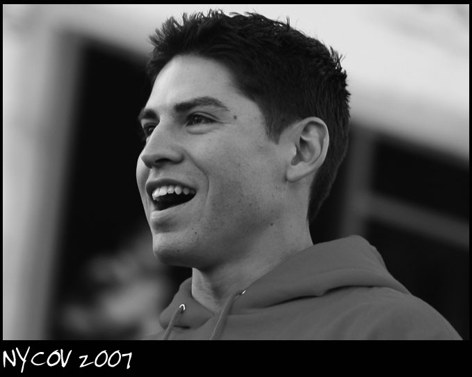 Downtown Boston Oct 31, 2007 ©NYCOV 2007 Rookie Jacoby Ellsbury