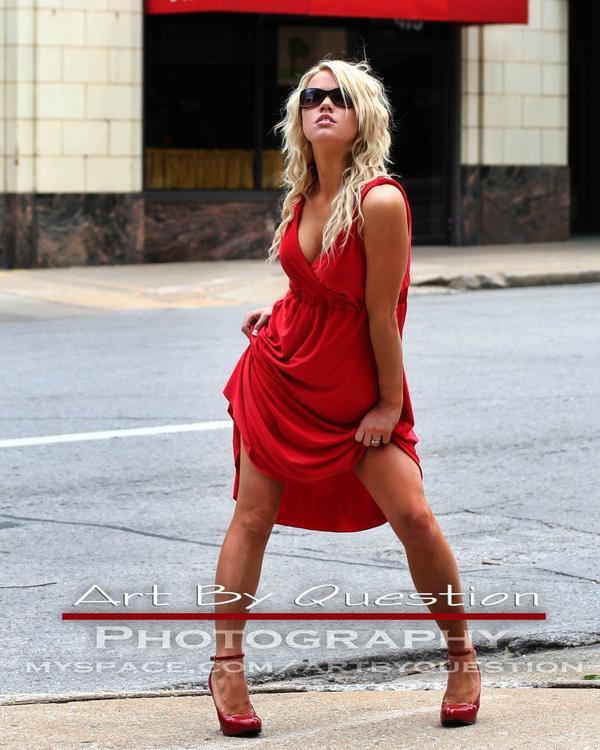 Female model photo shoot of sarahshell