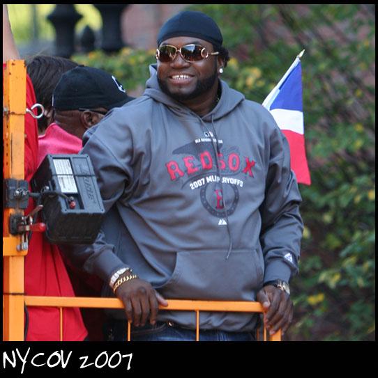 Downtown Boston Nov 01, 2007 ©NYCOV 2007 Big Papi David Ortiz