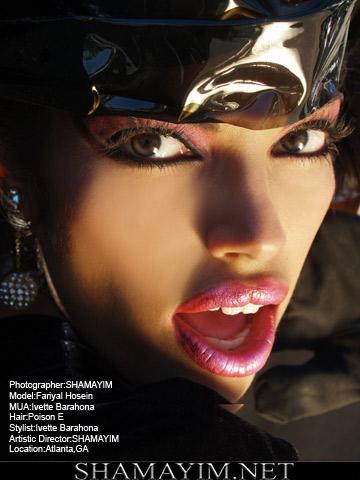 Atlanta, GA Nov 02, 2007 SHAMAYIM MUA & Wardrobe Stylist: Ivette Barahona- Hair Stylist: Poison E- Photographer & Artistic Director: SHAMAYIM- Model : Fariyal Hosein