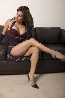 Female model photo shoot of Angel Reed in Downtown LA