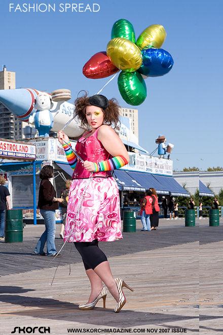 Coney Island Nov 06, 2007 Cirque du Freaque, Nov. issue of Skorch