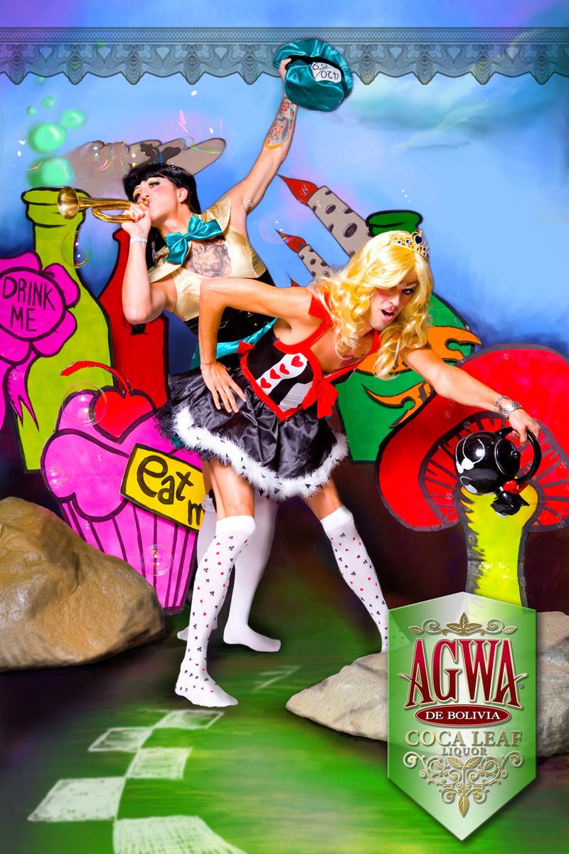 laguna beach Nov 06, 2007 agwa agwa liquor ad