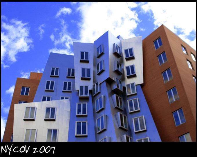 Cambridge, MA Nov 07, 2007 ©NYCOV 2007 Strata Center + MIT Campus + Frank O. Gehry