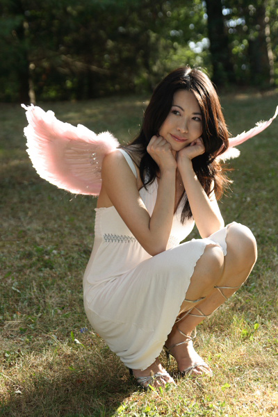 Female model photo shoot of Catalina Yue by Ming Siu