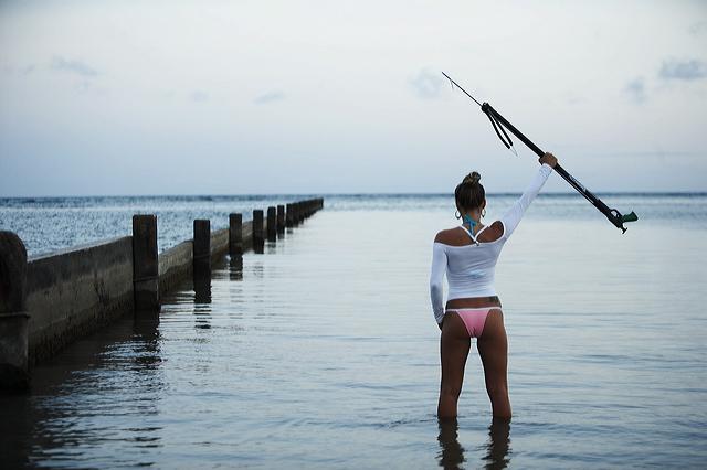 Female model photo shoot of jill caitlin in kahala