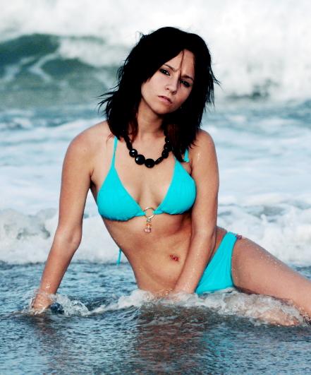 Female model photo shoot of Nikki_V in Beach