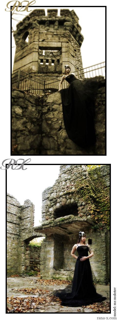 castle ruins Nov 11, 2007 rana x. dementia (gown series)