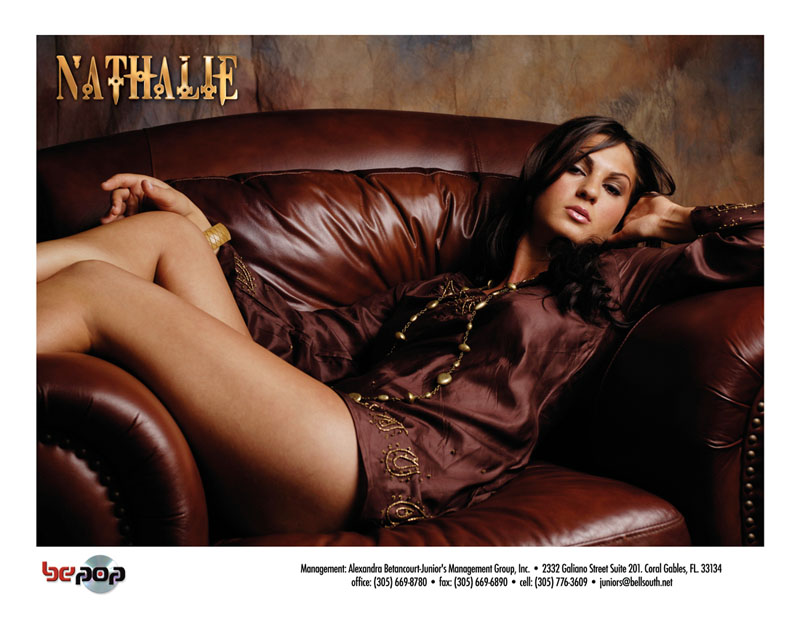 Miami Nov 14, 2007 2006 Luis Valladares transfered to Jr. Production Nathalie Mucho Mas Album Promo Card