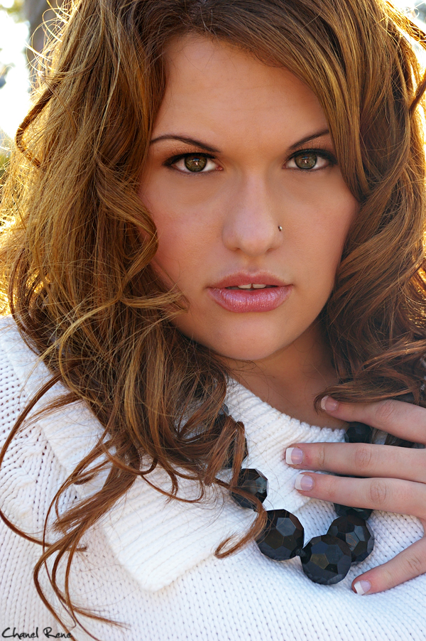 Female model photo shoot of Ashlei E by Chanel Rene Photo, hair styled by Monica hair-mua