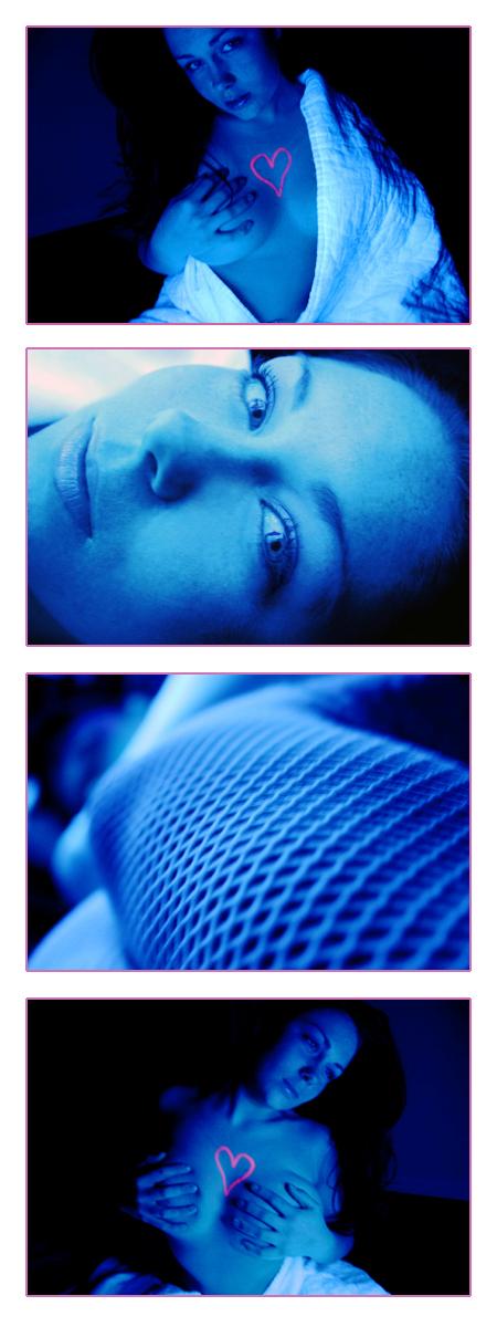 Nov 18, 2007 I glow in black light