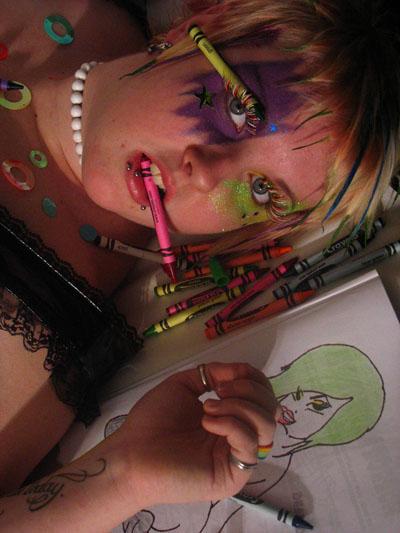 Nov 18, 2007 Shayl photography and cadavergirls.com Model Jessy