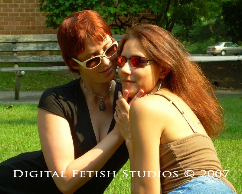 Male and Female model photo shoot of DigitalFetishStudios and Vika Noxx in Hershey, PA