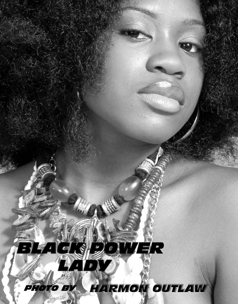 Harmon Outlaw Studios, Gardena, Ca Nov 19, 2007 harmon outlaw 2007 Black Power Lady 2