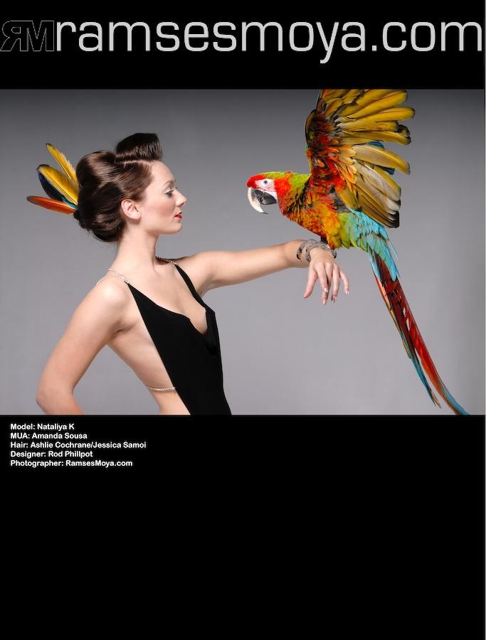 Nov 21, 2007 Photographer: Ramses Moya Model: Nataliya K Makeup Artist: Amanda Sousa Hairstylist: Jessica Cassidy & Ashlie Cochrane Wardrobe: Rod Phillpot