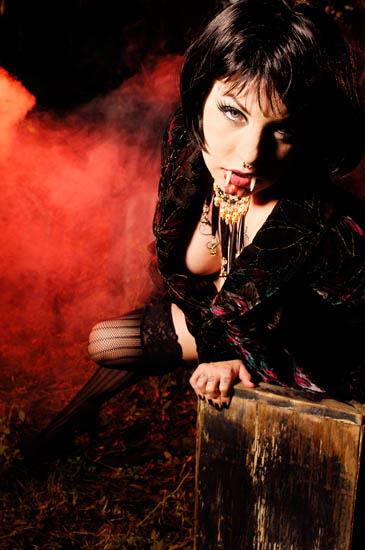 Female model photo shoot of lollie by ErnieR