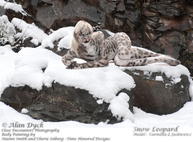 Vancouver, WA  and Bhutan Nov 22, 2007 Alan Dyck- Close Encounters Photography Snow Leopard