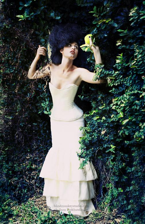 fashion: AZAC Designs, makeup: Sara, hair: Tokini, model: Bella Nov 23, 2007 Blind Monkey Studio, 2007 BELLA from fairy tale