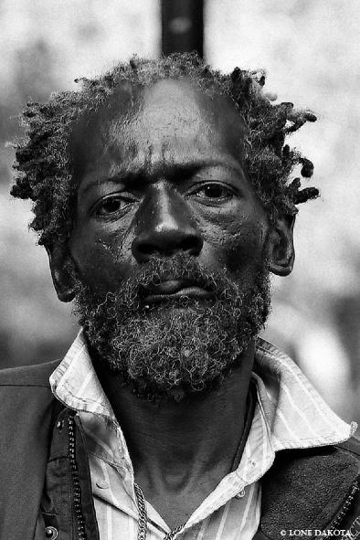 New York Nov 25, 2007 © 2007 Lone Dakota Homeless on His Birthday