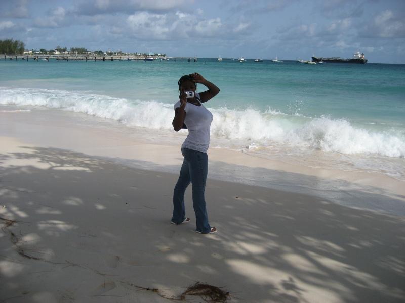 Female model photo shoot of SilkyC in Barbados Summer 2007
