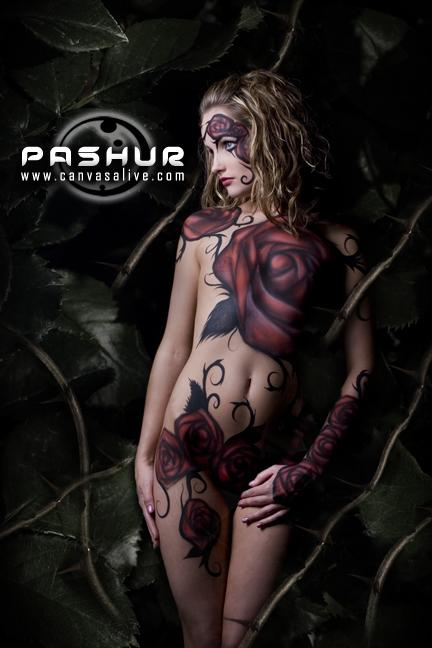Nov 29, 2007 Pashur the Body Painter Queen of Thorns