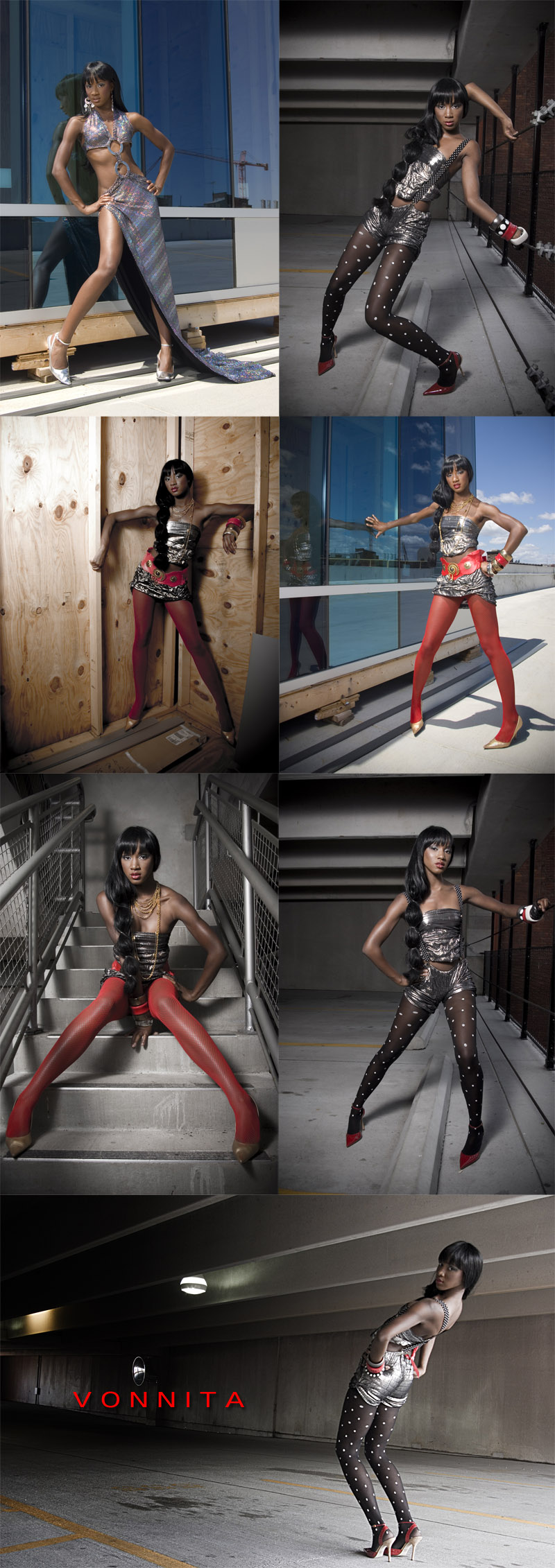 Female model photo shoot of Vonnita  by donnatella macKenzie, clothing designed by Nia Blu