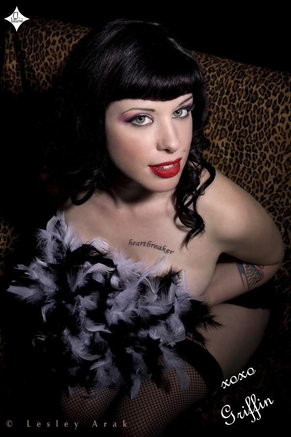 Dec 03, 2007 Lesley Arak Griffin-Model, Hot Rock & Dye Make Up/Styling, Lesley Arak-Photographer, Hollywood Ultra-Hair