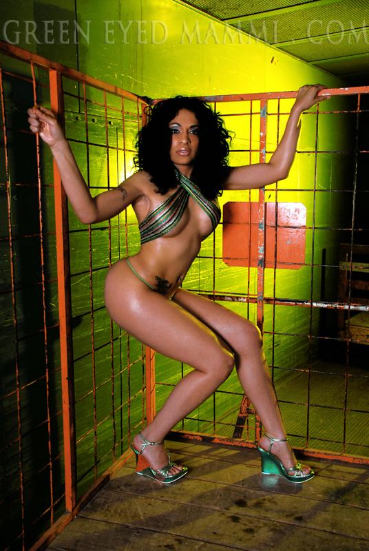 Female model photo shoot of Green Eyed Mammi by Mason Hladun in St. Paul, MN, makeup by Kimberly Steward
