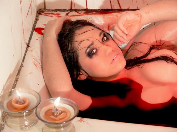 Female model photo shoot of AmandaLace by FLASH FORWARD Studio