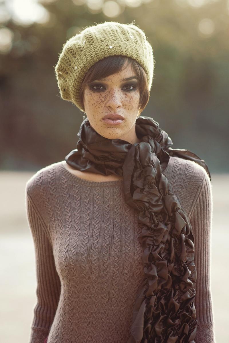 Female model photo shoot of Jeanne San Diego by Mark Sacro, hair styled by Sxy Graffiti