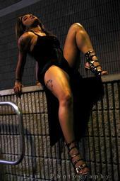 Female model photo shoot of PR Queen