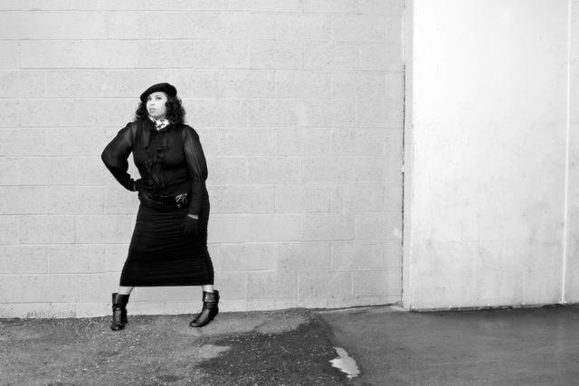 Female model photo shoot of Jae Lynn by Craig A McKenzie, makeup by LeTicia F